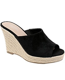 Lawrence Platform Wedge Espadrilles