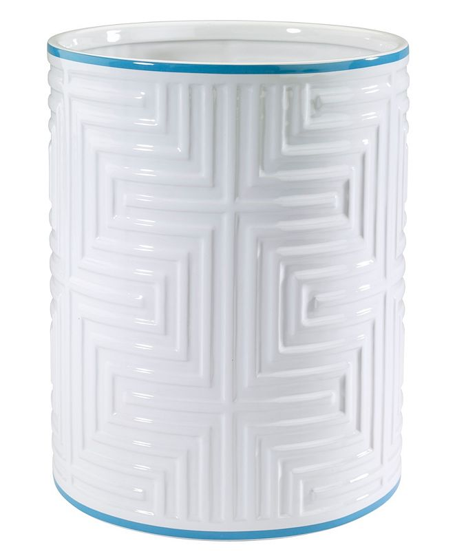 Now House by Jonathan Adler Mercer Wastebasket