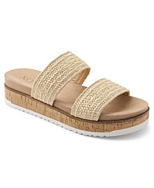 Delmar Flatform Sandal