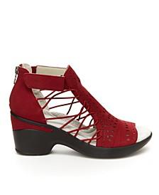 Nelly Encore Women's Dress Wedge Sandal