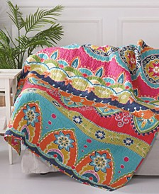 Amelie Bohemian Quilted Throw