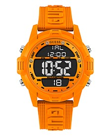 Logo Silicone Digital Watch 48mm