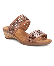 Kiwi Slide Wedge Sandal