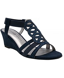 Denice Wedge Sandals, Created for Macy's