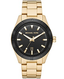 Layton Three - Hand Gold Tone Watch