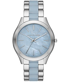 Slim Runway Three-Hand Stainless Steel Watch