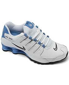 Men's Nike Shox NZ Running Sneakers from Finish Line