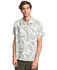 Quiksilver Men's Jungle Life Short Sleeve Shirt