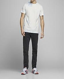 Men's Cotton Tie Dye Crew Neck Short Sleeve T-shirt
