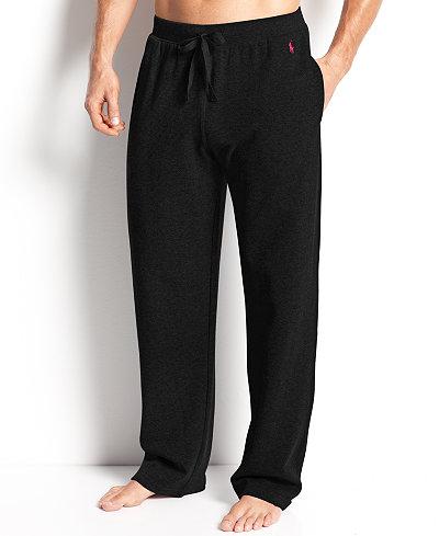 Polo Ralph Lauren Men's Loungewear, Solid Thermal Pants