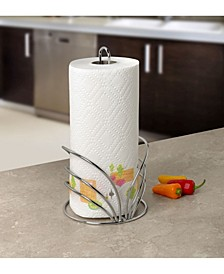 Flower Paper Towel Holder