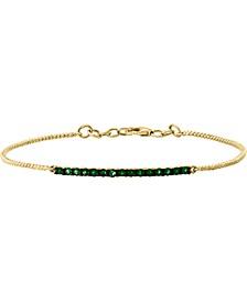 LALI Jewels Sapphire (5/8 ct. t.w.) Tennis Bracelet in 14k White Gold