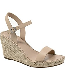 Noble Wedge Sandals