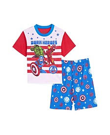Big Boys 2 Piece Pajama Set