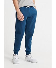 Men's Organic Cotton Standard Label Loopback Joggers