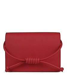 Midi Chelsea Leather Clutch Bag