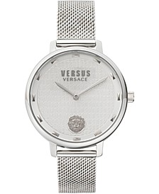 Women's La Villette Stainless Steel Mesh Bracelet Watch 36mm
