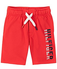 Little Boys Two Tone Hil Logo Shorts
