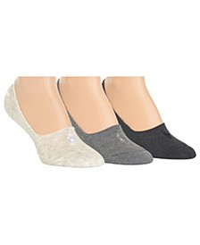 Women's 3pk Cushion Liner Socks