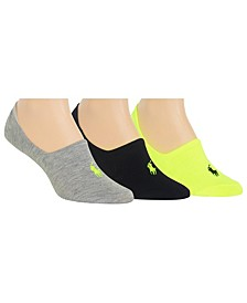 Women's 3 Pack Flat Knit Sneaker Liner Socks