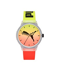 Reset V2 Three-Hand Multicolor Polyurethane Watch 43mm