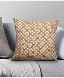 Ironwork Decorative Pillow, 18 x 18
