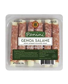 Genoa Panini Salame Wrapped Mozzarella Cheese, 4 Pack