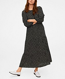 Polka Dots Long Dress