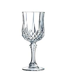 Cristal D'Arques Goblet Wine Glasses 8.25 oz 4 Piece Set