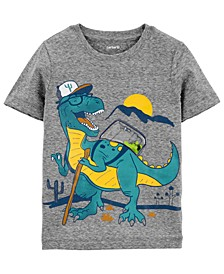 Toddler Boys Dino Backpack T-Shirt