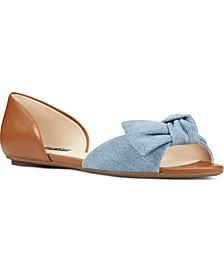 Bonnie Two-Piece Bow Flats