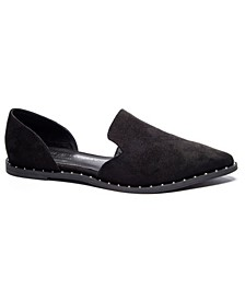 Women's Emy Pointed Toe D'Orsay Flats