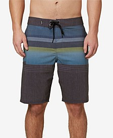 "Men's Stripe Club 20"" Board Shorts"