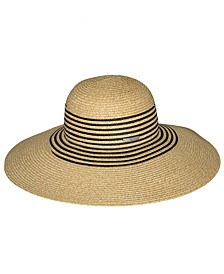 Striped Floppy Sunhat