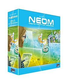Neom - Create The City Of Tomorrow Strategy Board Game