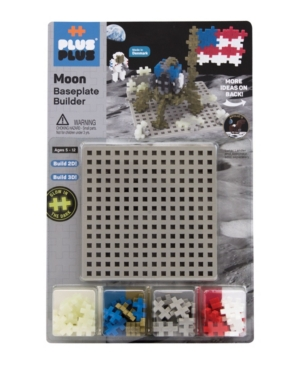Plus-Plus - Moon Baseplate Builder Building Set
