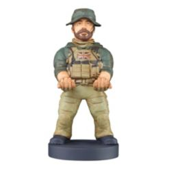Exquisite Gaming Cable Guy Charging Controller and Device Holder - Captain Price from Call Of Duty