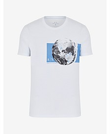 Men's Earth Print T-shirt