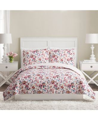 Vera Bradley Indiana Rose Queen Bedspread