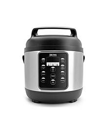 APC-816SB Professional 3.5 Quart Digital Pressure Cooker