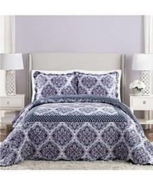 Regal Rosette Queen Bedspread