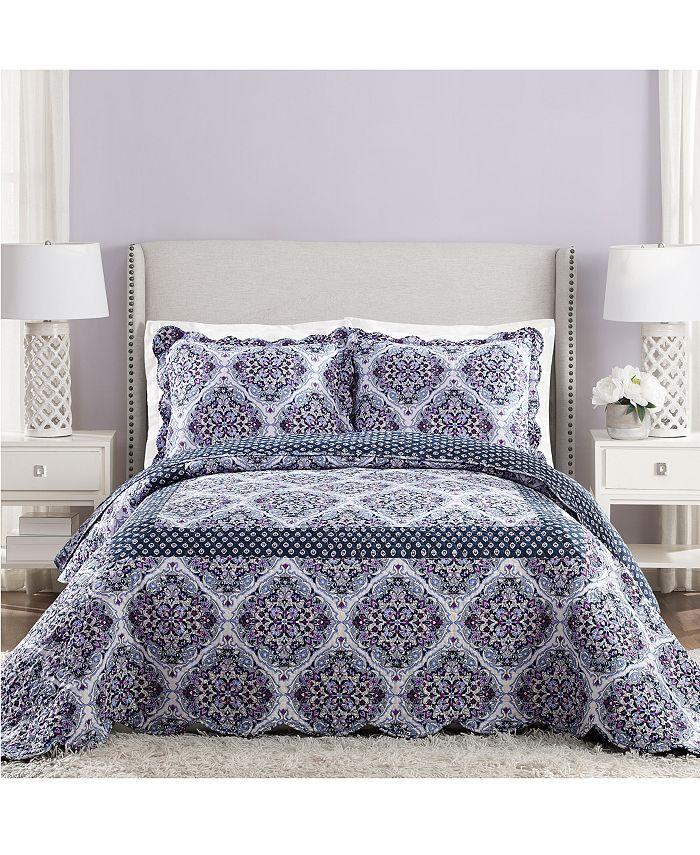 Jessica Simpson - Regal Rosette Queen Bedspread