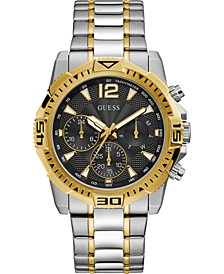 Men's Two-Tone Stainless Steel Bracelet Watch 43mm