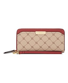 Kennedy Zip Around Wallet With Wristlet