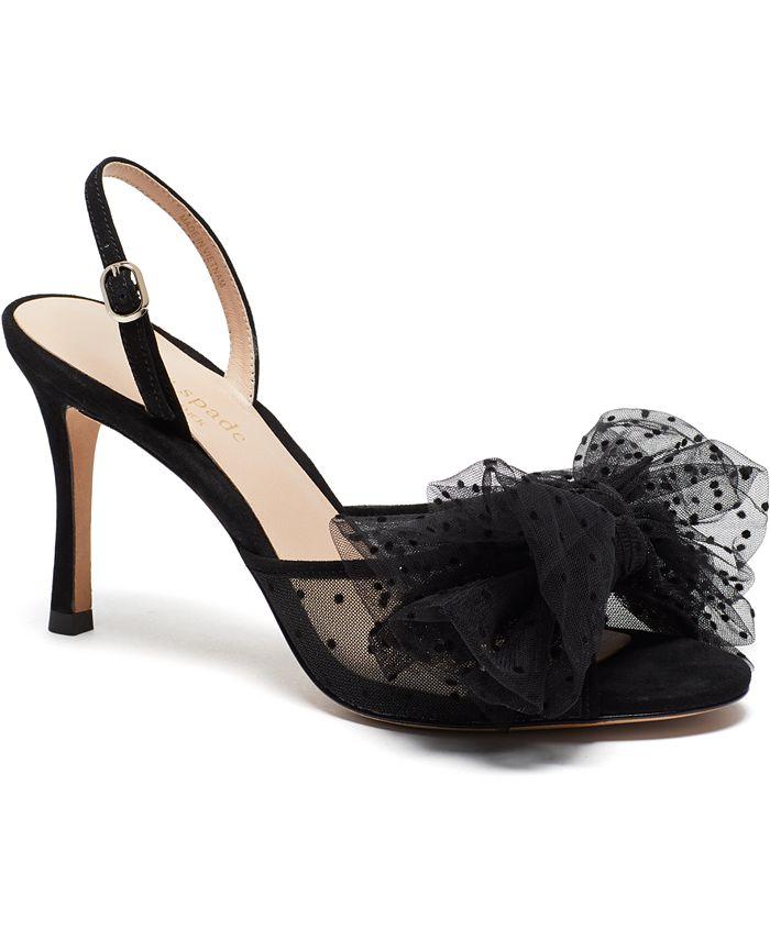 kate spade new york - Women's Bridal Sparkle Evening Dress Heels