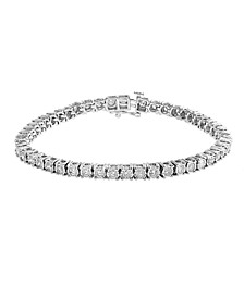 EFFY® Diamond Tennis Bracelet (2-7/8 ct. t.w.) in 14k White Gold