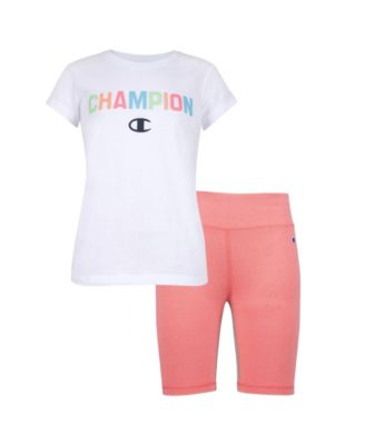 and Pant Set Hooded Vest DKNY Girls 3 Piece Heart T-Shirt