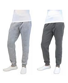 Men's 2-Packs Slim-Fit Fleece Jogger Sweatpants