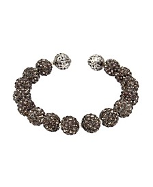 New York Caviar Beaded Coil Bracelet