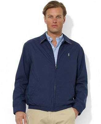 Polo Ralph Lauren Men's Jacket, Core Classic Windbreaker - Coats ...